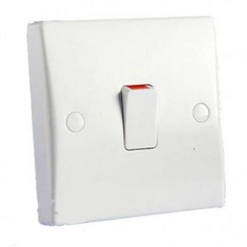 Schneider Electric GET Ultimate 20A Double Pole Switch with Flex Outlet GU2013